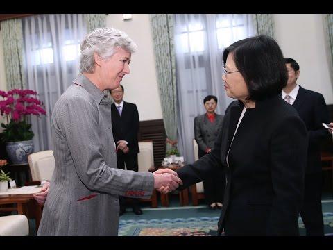President Tsai meets Representative Catherine Nettleton of British Office Taipei