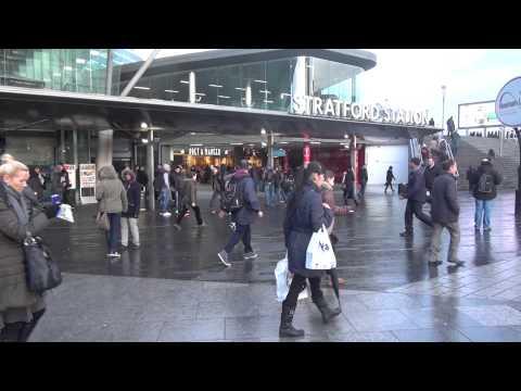 Tube strike 5 February 2014, Stratford station