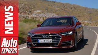 New Audi A8 revealed: luxury flagship offers new level of tech. Auto Express.