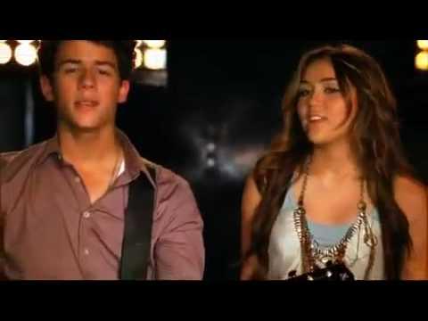Jonas brothers,Miley Cyrus,Selena Gomez e Demi Lovato Send It On Official Music