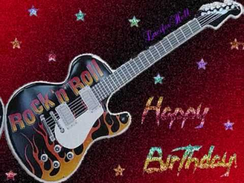 Rock) Happy Birthday !!!!! Song - YouTube