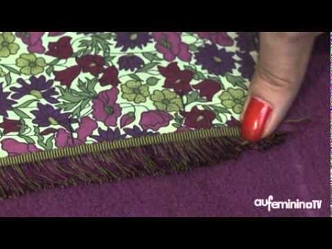 Comment faire un coussin avec notre pas pas vid o youtube - Comment fabriquer un coussin ...