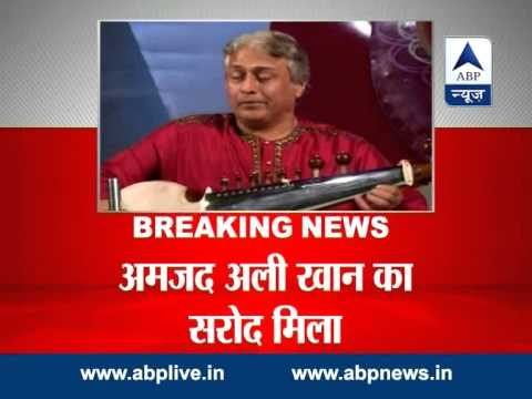 Ustad Amjad Ali Khan gets back his sarod that went missing on flight