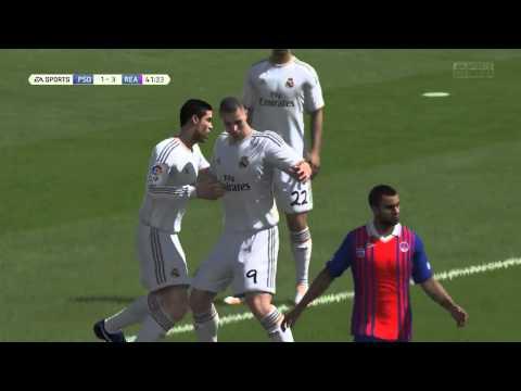 Golaço do Benzema no Kaio - Fifa14 Narração PT-BR