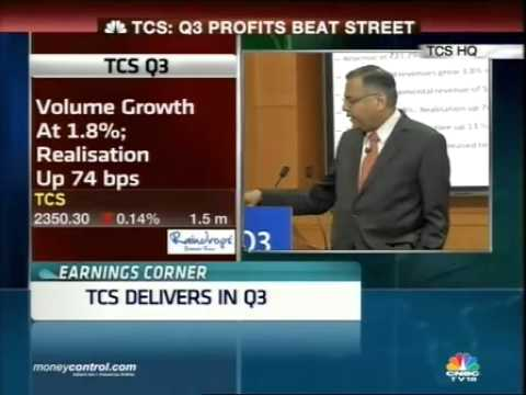 TCS Q3 net beats street; CEO Chandra sees stronger FY15 -  Part 1