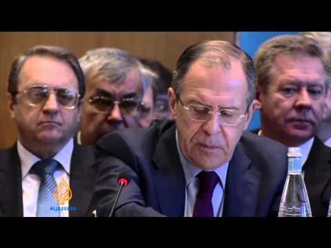 Syria peace talks stuck over Assad's future