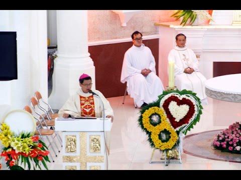 Đức Cha Phêrô giảng trong Lễ Thánh Gia tại Gx Chánh Tòa 2014
