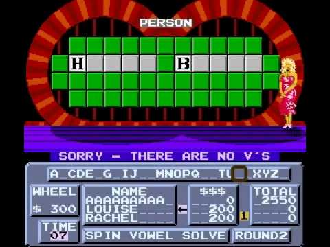 Wheel of Fortune - Vizzed.com Play - User video