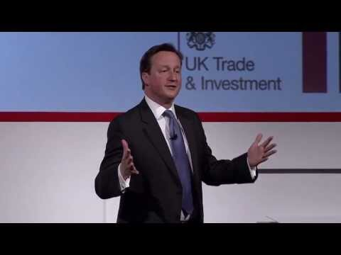 David Cameron speech at Global Investment Conference 2013