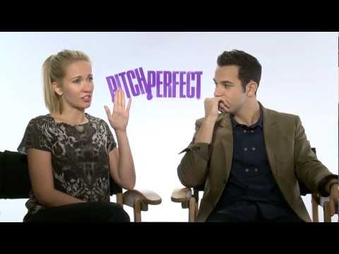 """Pitch Perfect"" Skylar Astin & Anna Camp interview"