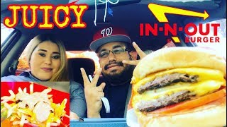 🍔 JUICY In-N-Out Double Cheeseburger MUKBANG + Relationship Advice & CHEATING