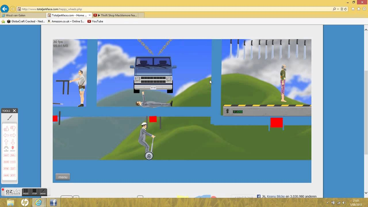 browse levels happy wheels