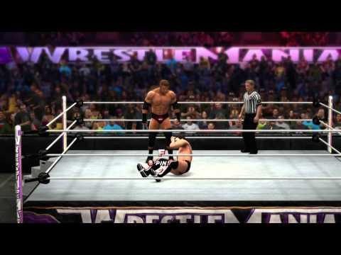 WWE WrestleMania 30 - Daniel Bryan vs Triple H & Main Event (WWE 2K14)