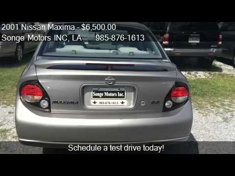 2001 Nissan Maxima SE 4dr Sedan for sale in Houma, LA 70364