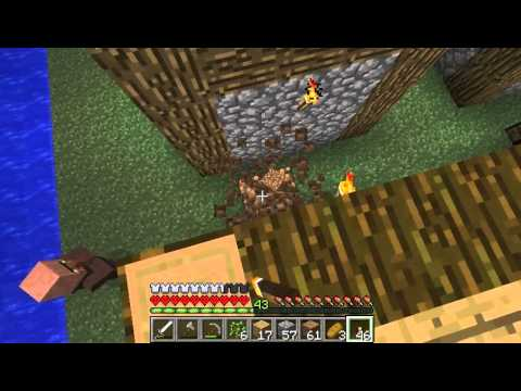 Let s play minecraft hardcore 49 village houses