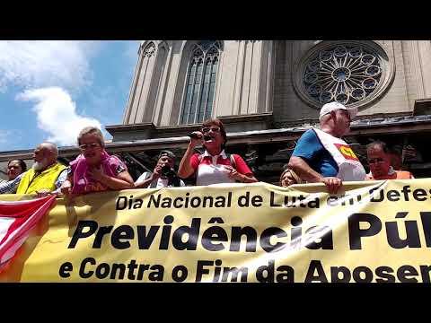 Assembleia Nacional contra Reforma Previdência - Fala de Eneida Koury