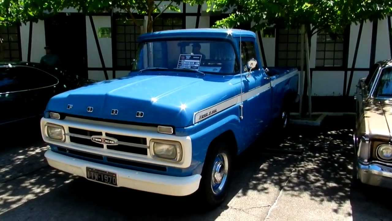 1970 ford f100 twin bean youtube. Black Bedroom Furniture Sets. Home Design Ideas