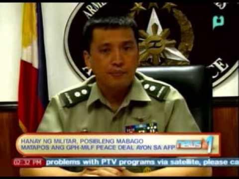 AFP: Hanay ng militar, posibleng mabago matapos ang GPH-MILF peace deal || Jan. 27, '14