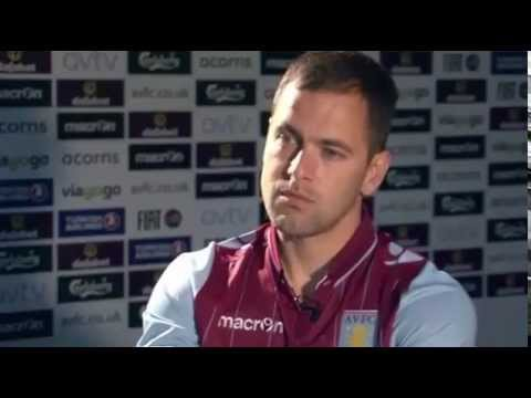 Aston Villa newcomer Joe Cole interviewed by AVTV