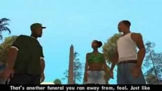 GTA: San Andreas CUTSCENE [002] Big Smoke