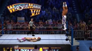 WWE 2K14: Macho Man Vs. Ultimate Warrior At WrestleMania 7