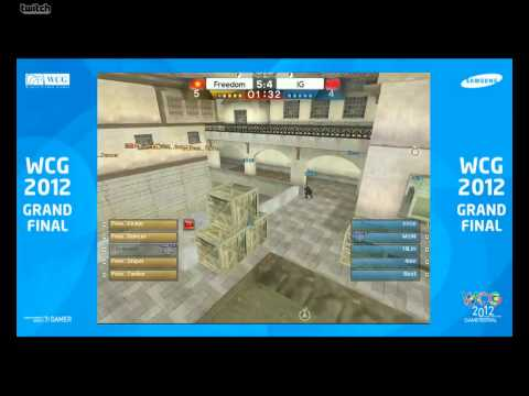[WCG] 2012 CrossFire FINALS - China vs Vietnam [HD]