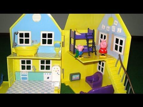 Peppa Pig House Deluxe Peppa Pig Playhouse Bandai