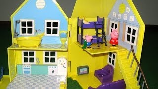 Peppa Pig House Deluxe Peppa Pig Playhouse Bandai