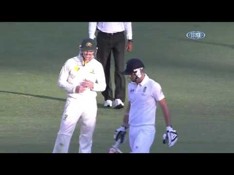 Michael Clarke sledges James Anderson