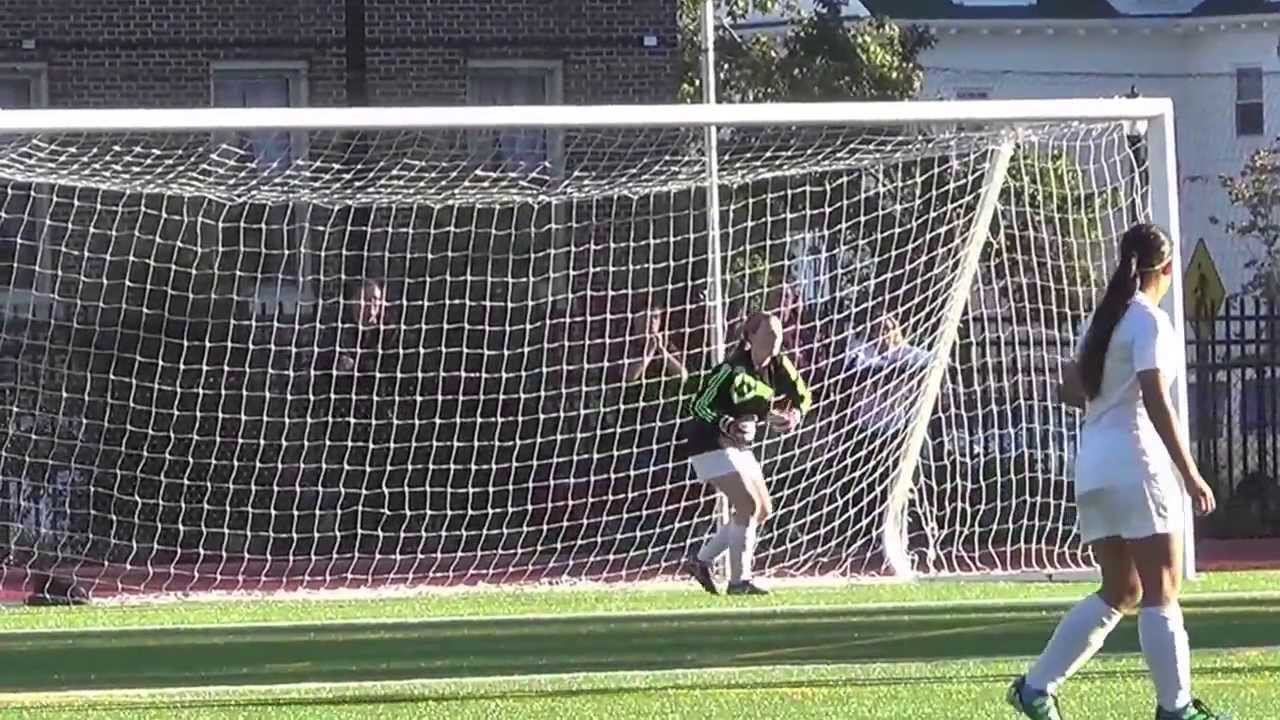 Class of 2014 goalkeeper sacred heart academy hempstead ny youtube