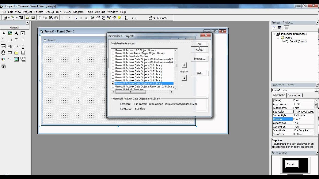 how to create a database in access 2007 youtube