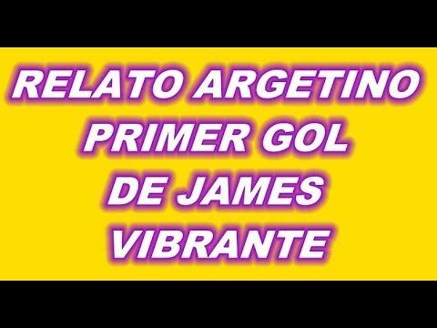 GOL JAMES RODRIGUEZ COLOMBIA 2 VS URUGUAY 0 RELATO ARGENTINO EMCOIONANTE 1ER GOL