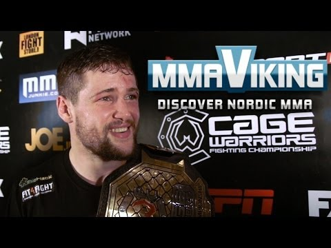 Nicolas Dalby Cage Warriors 66 Post Fight Interview