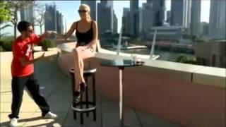 Dynamo's Best 2012 Trick Performered On Lindsay Lohan
