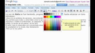 Curso de Google Docs. Parte 7