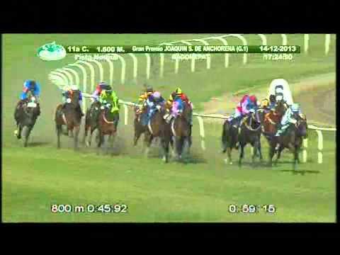 Vidéo de la course PMU GRAN PREMIO JOAQUIN S. DE ANCHORENA