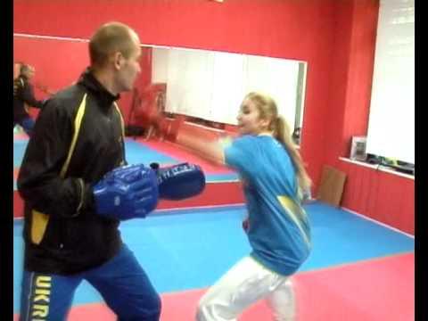 Одесситка - чемпионка Европы по карате (версии WKF)