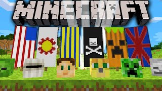 Minecraft 1.8 Snapshot: How To Dye Banners, Custom Flags