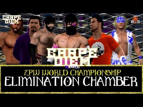 Elimination Chamber for the ZPW World Championship - FULL MATCH - ZPW Carpe Diem (2014)