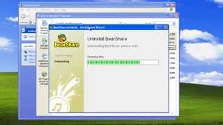 How To Uninstall (remove) Bearshare (program, Toolbars