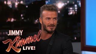 David Beckham on Being an NFL Kicker