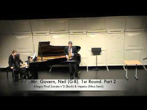 Mc. Govern, Neil (G-B). 1sr Round. Part 2