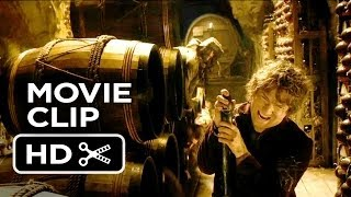The Hobbit: The Desolation Of Smaug Movie CLIP Into The