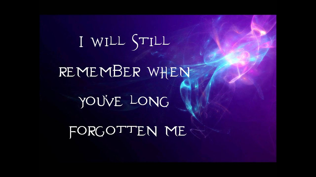 Evanescence just like you lyrics