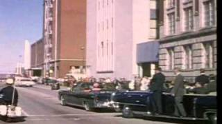 JFK, Kennedy Assassination Clips / Stabilized (DeShaker