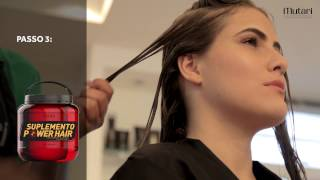 Passo a Passo Spa Vip Power - Suplemento Power Hair