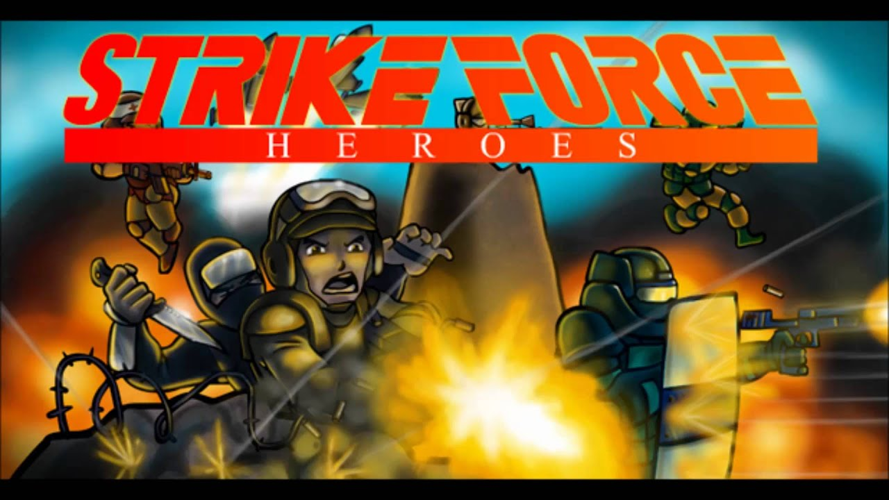 Strike force heroes ost main menu theme youtube