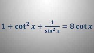 Trigonometrične enačbe 29