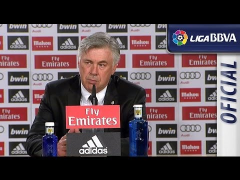 Press Conference Carlo Ancelotti post Real Madrid (4-0) UD Almeria - HD