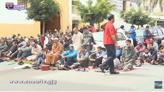 صلاة الجمعة بين المسجد و الشارع وهاشنو كيوقع | روبورتاج